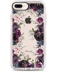 Casetify - My Secret Garden Transparent Iphone 7/8 & 7/8 Plus Case - Purple - Lyst