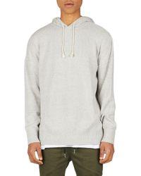 Zanerobe - Towel Knit Hooded Sweatshirt - Lyst