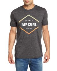 Rip Curl - Stamp Of Approval Graphic T-shirt - Lyst