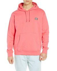 Obey - All Eyez Appliqued Hooded Sweatshirt - Lyst