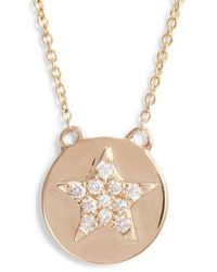 Dana Rebecca - Julianne Himiko Star Disc Pendant Necklace - Lyst