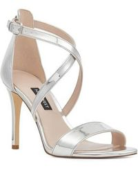 Nine West - Mydebut Strappy Sandal - Lyst