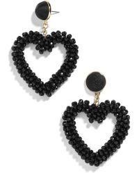 BaubleBar - Amissa Heart Drop Earrings - Lyst