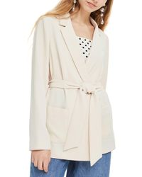 TOPSHOP - Chuck On Belted Jacket - Lyst