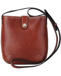 Most Wanted Usa - Equestrian Chic Leather Saddlebag - Lyst