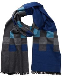 Tommy Bahama - Novelty Blocks Silk Wrap Scarf - Lyst