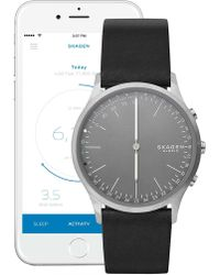 Skagen - Men's Jorn Hybrid Smart Leather Strap Watch, 41mm - Lyst