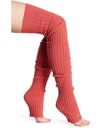 ToeSox - Thigh High Leg Warmers - Lyst