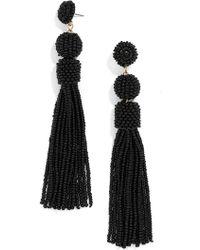 BaubleBar - Mariachi Beaded Tassel Earrings - Lyst