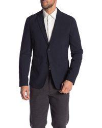 Theory - Clinton Function Seersucker Suit Jacket - Lyst