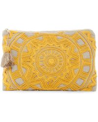 Shiraleah - Grace Beaded Zip Pouch - Lyst