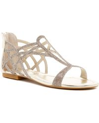 Karen Millen - Essential Flat Sandal - Lyst