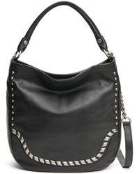 Frye - Melissa Diamond Studded Leather Crossbody Bag - Lyst