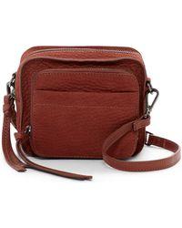Kooba - Milford Pebbled Leather Crossbody Bag - Lyst
