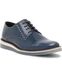 Steve Madden - Intern Plain Toe Leather Derby - Lyst