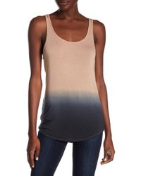 Go Couture - Washed Tank Top - Lyst
