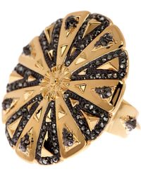 House of Harlow 1960 - Ornamental Medallion Ring - Size 5 - Lyst