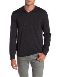 Joe Fresh - V-neck Merino Wool Sweater - Lyst