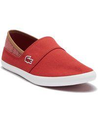 Lacoste - Marice 118 Slip-on Sneaker - Lyst