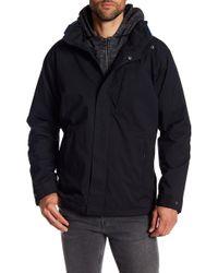 Izod - Polar Fleece Lined Detachable Hood Jacket - Lyst