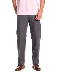 Bills Khakis - Weathered Canvas Charcoal Pant - Lyst