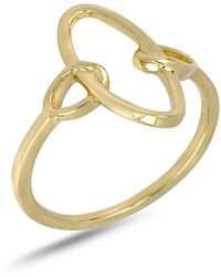 Bony Levy - 14k Yellow Gold Open Oval Ring - Lyst