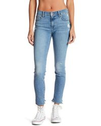Lucky Brand - Brooke Mid Rise Distressed Jean Legging - Lyst