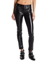 Blank NYC - Skinny Classique Faux Leather Pants - Lyst