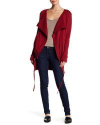 Fine by Superfine - Drape Collar Jacket - Lyst