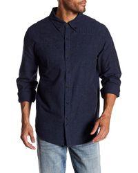 Blank NYC - Supermodel Magnet Long Sleeve Regular Fit Shirt - Lyst