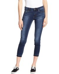 Articles of Society - Katie Cropped Hem Jeans - Lyst