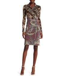 Petit Pois - Mixed Print Twofer Dress - Lyst