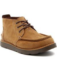 TOMS | Leather Chukka Boot | Lyst