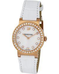 Swarovski - Women's Citra Sphere Mini Crystal Accented Swiss Quartz Watch, 32mm - Lyst
