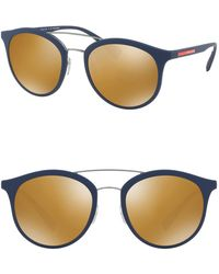 Prada - 54mm Polarized Phantos Sunglasses - Lyst