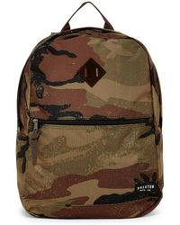 Brixton - Carson Camo Backpack - Lyst