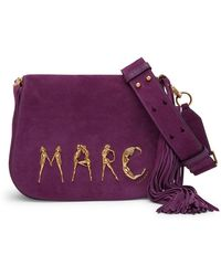 Marc Jacobs - Marc Suede Crossbody Bag - Lyst
