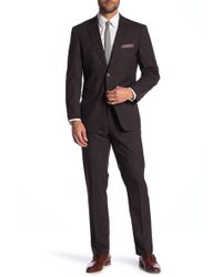 Perry Ellis - Checkered Slim Fit Suit - Lyst
