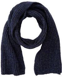 Frye - Ribbed Virgin Wool Blend Scarf - Lyst