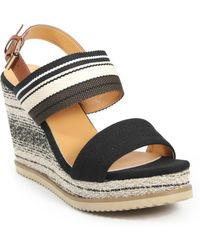 Catherine Malandrino - Seline Multi Color Double Band Wedge - Lyst