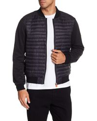 Save The Duck - Leisure Quilted Bomber Jacket - Lyst