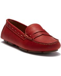 G.H.BASS - Patricia Leather Penny Loafer - Lyst