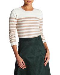 Lucy Paris - Anita Stripe Knit Top - Lyst
