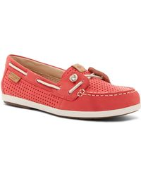Sperry Top-Sider - Coil Ivy Perforated Boat Shoe - Lyst