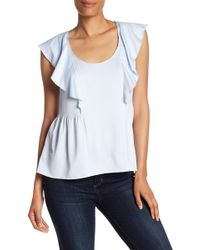 French Connection - Nia Draped Tank Top - Lyst
