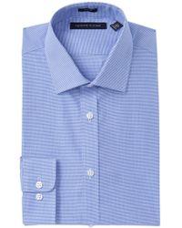 6fc4461d22469 Lyst - Tommy Hilfiger Men s Classic-fit Indigo Twill Dress Shirt in ...