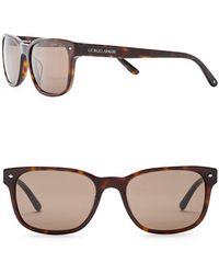 Giorgio Armani - Wayfarer 56mm Acetate Frame Sunglasses - Lyst