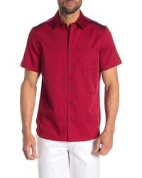 d3ad919f Tommy Hilfiger Dean Pieced Bandana Customfit Shirt in Blue for Men ...