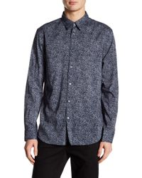 John Varvatos - Classic Fit Patterned Shirt - Lyst