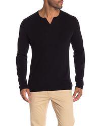 Autumn Cashmere - Notch Collar Cashmere Sweater - Lyst